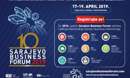 Otvorena on-line registracija za 10. Sarajevo Business Forum